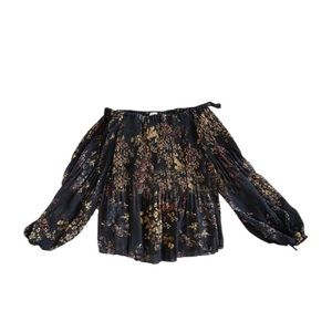 """Wilfred Tops - Wilfred """"Talence"""" Floral Off the Shoulder Top"""